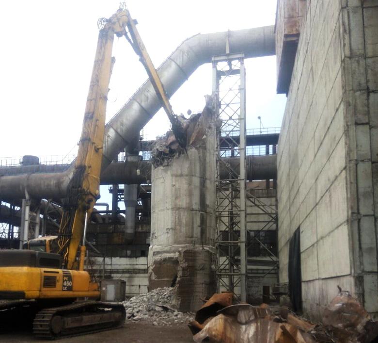 Качественный демонтаж металлоконструкций